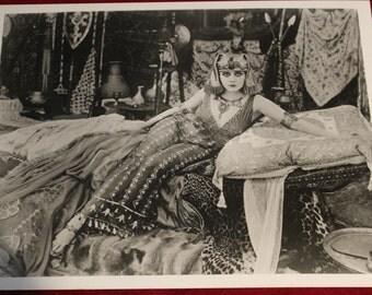 Theda Bara as Cleopatra, 1917 Film, Silent Film Actress, Movie Actress, Hollywood From Original Negative