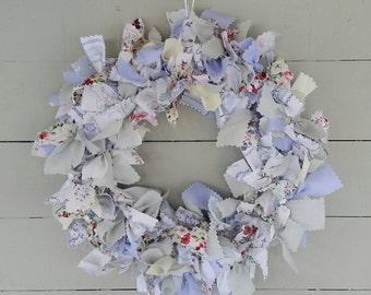 Handmade Summer Rag Wreath