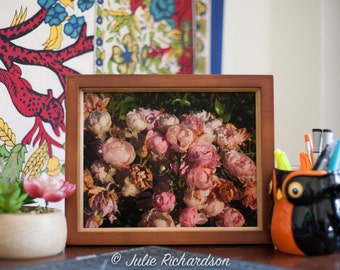 Little and Pink Flower Buds Photography Print