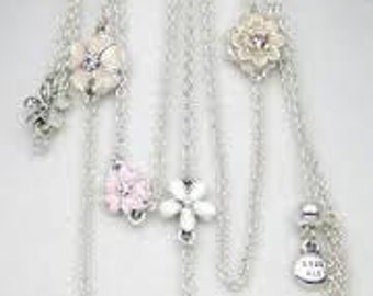 New-Authentic Pandora Poetic Bloom Necklace..2016 Spring Collection