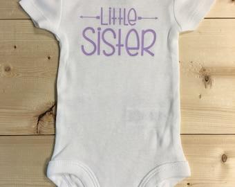 Little Sister Onesie - Sibling Onesie