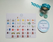 School / Term Planner, Penpal and Journalling Stickers