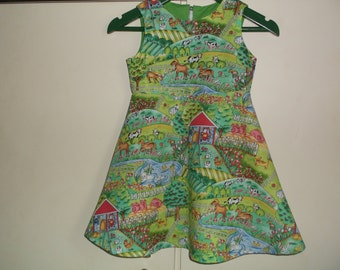 Farmyard dress