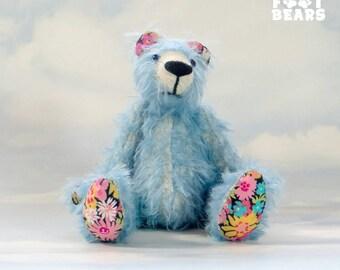Artist MOHAIR Teddy Bear 'Eric' OOAK hand crafted - My Bear Foot Bears