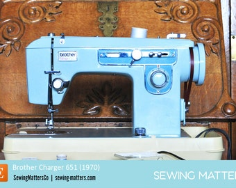 Vintage Brother 651 Sewing Machine Manual PDF Download