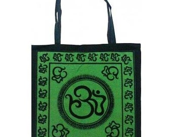 Green OM Tote Bag