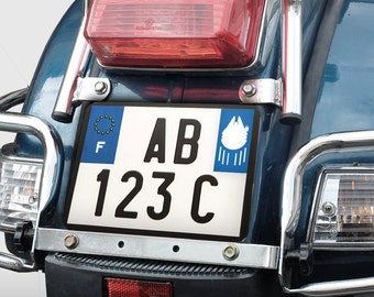Sticker Star Wars license plates for Millenium Falcon