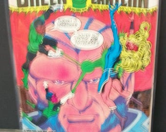 1985 Green Lantern #194 John Stewart Green Lantern  Harbinger On Cover  Good Condition Vintage DC Comic Book Crisis On Infinite Earths