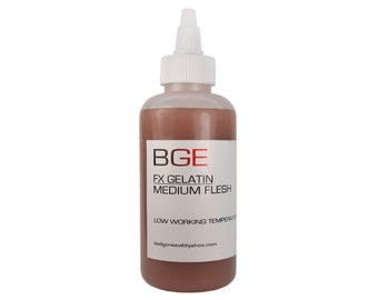 BGE Medium Flesh Special FX Gelatin for cuts, wounds and injuries.