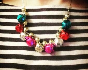 Jingle Bells Christmas Necklace