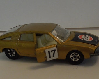 Vintage 1969 Matchbox Series BMC 1800 Pinnafarina (Gold)