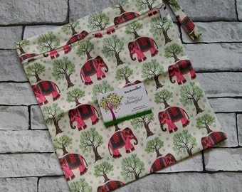 Elephant Forest Wet Bag