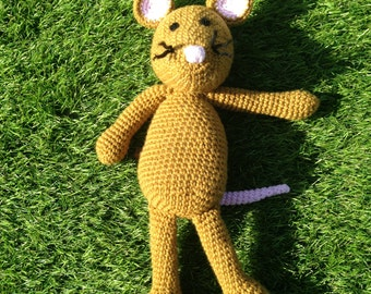 Little Brown Mouse Crochet Pattern