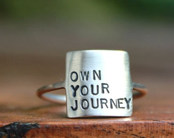 Storybook Ring - Own Your Journey, Own Your Story