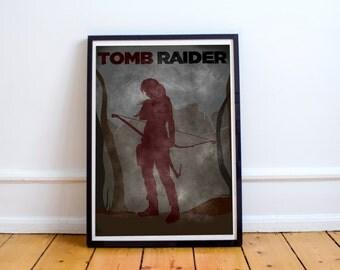 Lara Croft Tomb Raider Jungle Print Poster