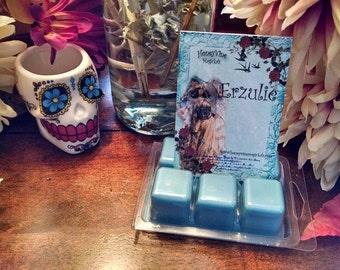 Goddess Erzulie Soy Wax Clamshell Spell Tarts Melts