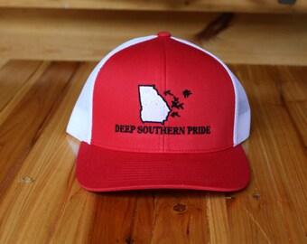 Deep Southern Pride Red Snapback