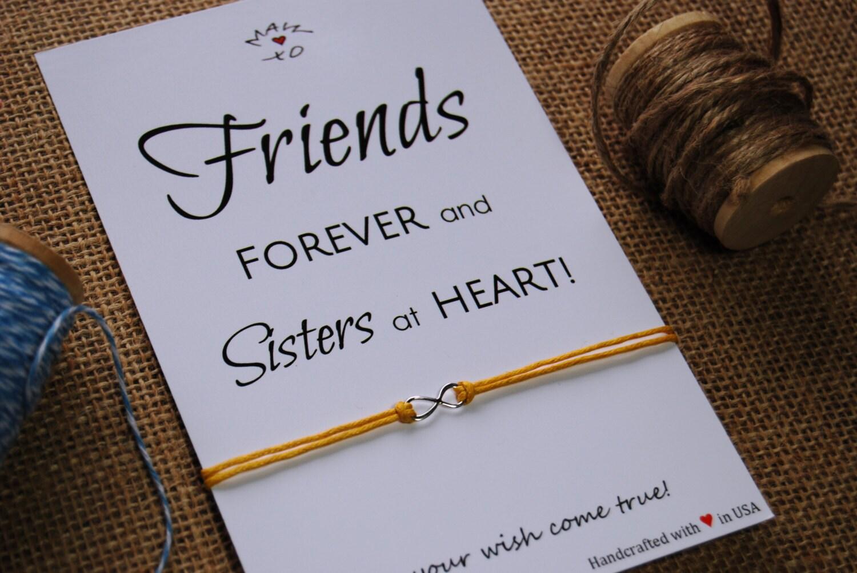 Friends bracelet sterling silver infinity charm bracelet bff - Bff geschenke ...