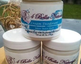 Natural Deodorant Cream-4oz