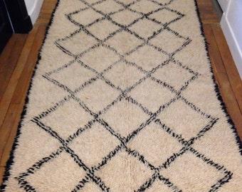 Berber rug BENI OUARAIN 118x222cm