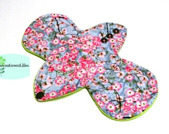"""10"""" Cotton Light Cloth Pad with Wings (CherryBlossoms)"""