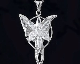 EvenSTAR elven arwen necklace lord of the rings