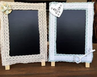 Handmade Chalkboards - Decor - Wedding - Baby Shower -Bridal Shower - Birthday