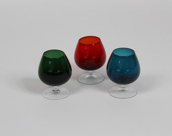Three Vintage Glasses