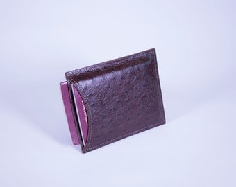 DORNEY Premium Leather and Suede-Lined Double Dual-Passport Sleeve *Holds Two Passports*