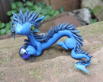 Blue oriantal Dragon