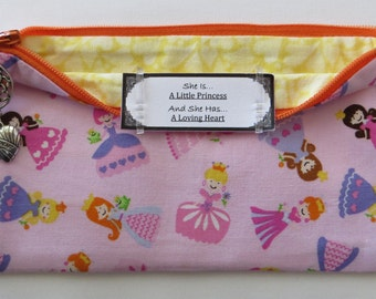 Persette #53 Personalized Zippered Organizing Pouch