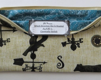 Persette #113 Personalized Zippered Organizing Pouch