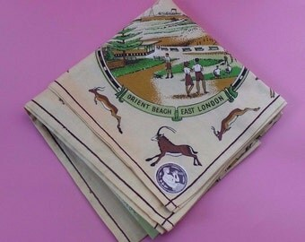 Vintage Pre 1961 Small Union Of South Africa TABLECLOTH