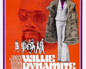 WILLIE DYNAMITE Movie Poster Blaxploitation Shaft Superfly