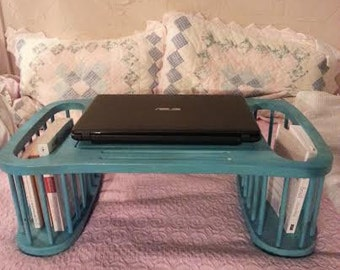 Turquoise Lap Desk - Lap Desk - Lap Tray - Breakfast Tray -  Portable desk - laptop table - desk for bed - laptop desk - laptop desk