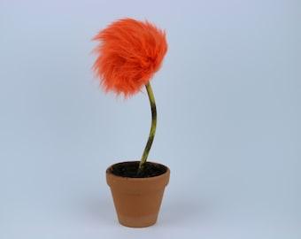 Lorax inspired Truffula Tree - ORANGE