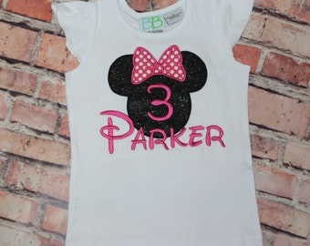 Minnie Applique Shirt