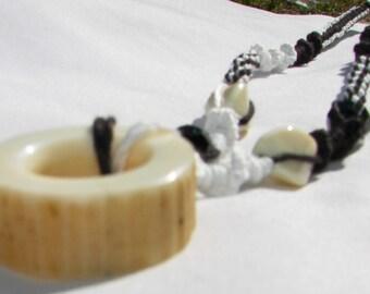 Fossilized Bone Necklace