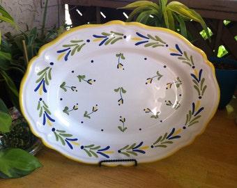 The Strata Group for Shafford Ceramic Platter - St. Tropez