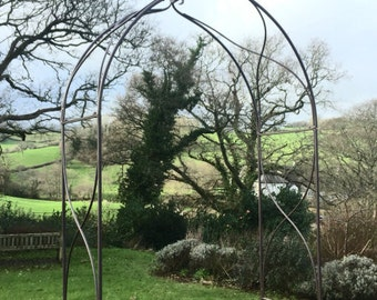 Steel Romantic Rose Arch  -  FREE DELIVERY