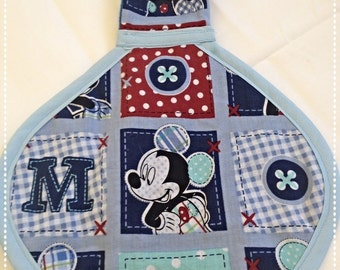 Disney's Mickey Mouse Binky Blanket! M-I-C-K-E-Y!