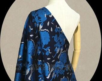 Brocade fabric - formal bridal fabric