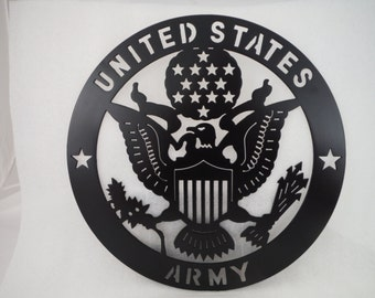 US Army Plaque/Army/Metal