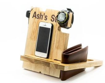Valentine's Day Gift for Him,iPhone 6 dock,Christmas Gift for Men  Catchall,Mothers day gift,Easter Gifts for Him,Gift ideas,Phone dock gift