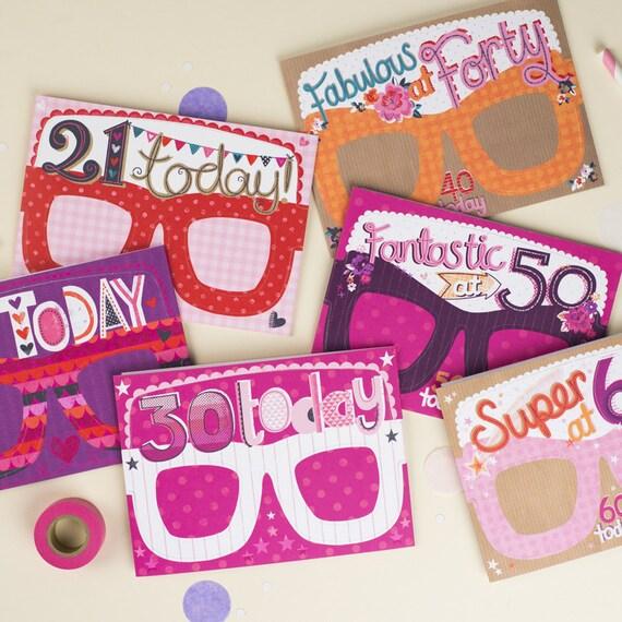 50th Birthday Card Photo Prop Funny Birthday Card Girls – Birthday Card Girls