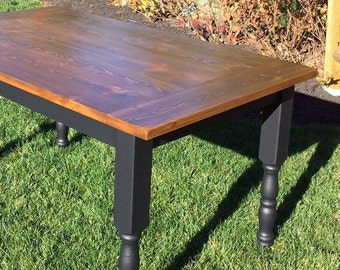 Farm Table, Harvest Table, Farmhouse Table, Rustic Table, Country Table, Distressed Table, Pine table, Outdoor Wedding