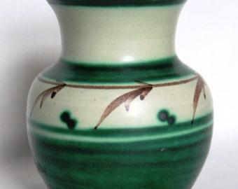 Vintage Small Swedish Vase by Bo Fajans of Gefle