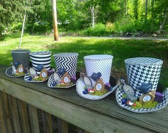 Wonderland Top Hats