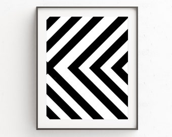 Black And White Wall Art black and white wall art geometric scandinavian print