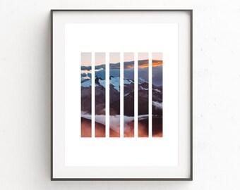 Winter Photography, Contemporary Print, Digital Download Photography, Modern Minimal, Download Art, Cool Prints, Photo Prints, Geometric